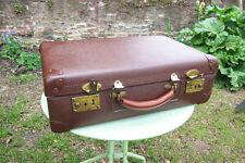 Vintage Brown hard shell ex- Kleeneze rep suitcase GC