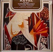 ARTHUR GRUMIAUX/HAITINK/MARKEVITCH/MONTEUX/ROSENTHAL bolero/tzigane RAVEL LP VG+
