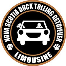 "Limousine Nova Scotia Duck Tolling Retriever 5"" Sticker"