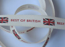 Best of British - 15mm wide - retro Home Front Berisfords ribbon - 2 metres +