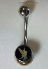 """316L SURGICAL STEEL TINKABELL NAVEL/BELLY BAR 7/16""""(13mm)MULTI-COLOR, NO STONE"""