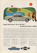 1960 Chevy PRINT AD Corvair 700 2 Door GOLF theme