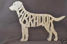 Labrador Retriever Dog Wooden Toy Scroll Saw Puzzle