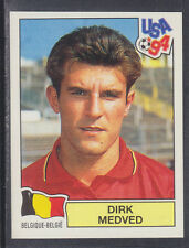 Panini - USA 94 World Cup - # 357 Dirk Medved - Belgique (Green Back)