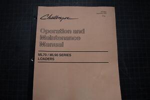 CAT Caterpillar Challenger ML70 ML90 Operation Operator Maintenance Manual Guide