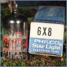 TUBE ELECTRONIQUE 6X8 PHILCO LAMPE RADIO neuf