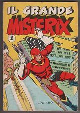 IL GRANDE MISTERIX N.1 edizioni Alpe 1974 raccolta nn. 5 e 6 super joe porter