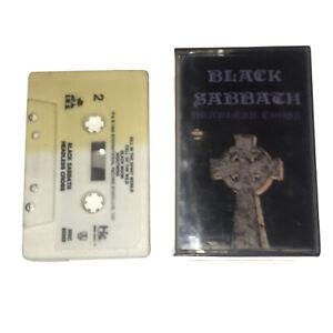 Black Sabbath Headless Cross CASSETTE TAPE METAL OZZY OSBOURNE 1989