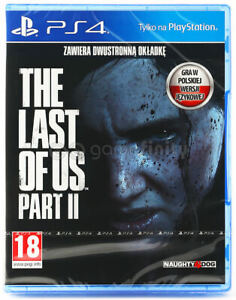 THE LAST OF US PARTE II (2) PS4 PL