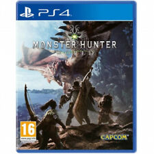 Monster Hunter: World  Video Game For Sony PS4 Games Console Selaed Brand New