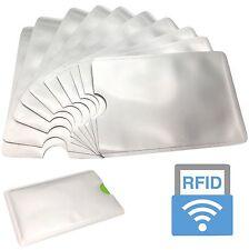 100x T::A RFID Schutzhülle NFC EC Kreditkarte Blocker Schutz Hülle Abschirmung