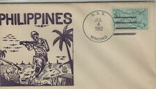 USA 1952 SHIP COVER USN USS MINDORO
