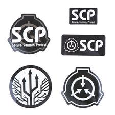 5Pcs SCP Foundation Vinyl Waterproof Sticker for Laptop Guitar Skateboard FrUTSG