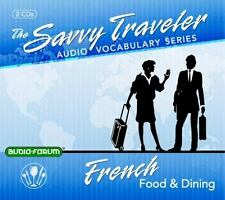 Savvy Traveler French Food & Dining   2 CDs  2013 by Audio-Forum 1623920876