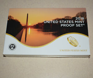 2018 Uncirculated U.S. Mint Clad Proof Set