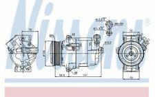 NISSENS Kompressor 12V für OPEL ZAFIRA 89041 - Mister Auto Autoteile