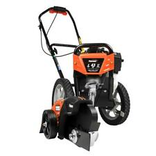 Powermate 43cc Gas Wheeled String Trimmer Plus Edger Attachment Combo Kit 2-Tool