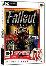 * PC NEW SEALED 3 Game Set * FALLOUT COLLECTION * FALLOUT 1 & 2 & TACTICS
