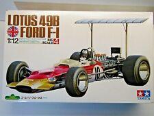 Tamiya Vintage 1 12 Big Scale Gold Leaf Lotus 49b Ford F1 - Kit # 12004*4000