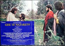 CINEMA-fotobusta GESù DI NAZARETH powell, ZEFFIRELLI