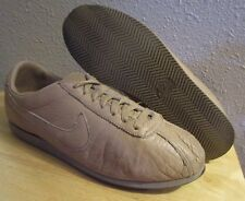 RARE VTG 80's 1986 Nike Cortez Waffle Brown Tan Running Shoes Men's size 10.5