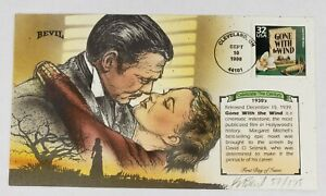 Bevil Hand Painted FDC Celebrate the Century 1930s Gone with the Wind #57/175