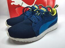 PUMA Mens Blue Carson Sneakers Shoe Size 8.5