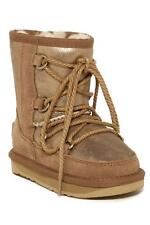 New in Box - $195 Australia Luxe Norse Old Gold Sheepskin Boot Children's Sz 9
