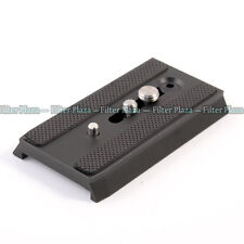 501PL Sliding Quick Release Plate QR For Manfrotto 501 503HDV 701HDV MH055M0-Q5