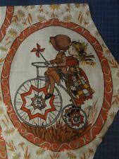 Large HOLLY HOBBIE Fabric Panel (31cm x 37cm) #2