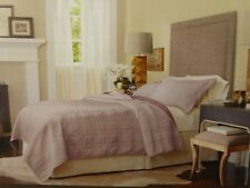 3 pc Fieldcrest Embroidery Queen Quilt and Shams Set New