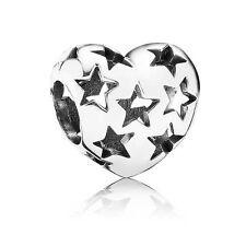 Authentic Pandora Charm Starry Heart 791393