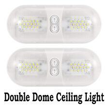 2pcs 12V LED Interior Lights Roof Ceiling Light For Home RV Camper Motorhome Van