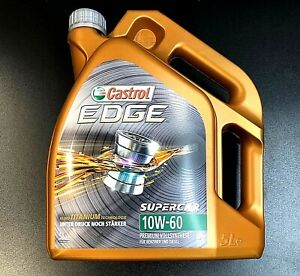 Castrol EDGE  SUPERCAR 10W-60 Motoröl - 5Liter Vollsynthetisch