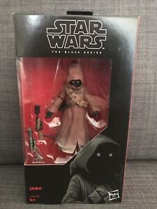 Star Wars Black Series Jawa figure 6 inch-scale. New & unopened.