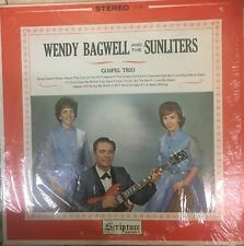 WENDY BAGWELL AND THE SUNLITERS Gospel Trio Private Press VG+ LP