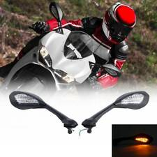 L & R Rearview Mirror LED Turn Signal Fit For Ducati 939 Supersport S 17-19