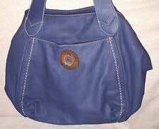 DAVID JONES Damentasche Tasche Damen Shopper Handtasche Leder Blau Design 1A NEU