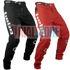 Hebo 2021 TRIAL TECH Trials Riding Pant Black or Red -Offoad -Adventure FreePP