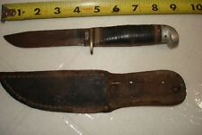 Vintage or OLD Western Boulder Colo. Made in USA Fixed Blade Knife, Sold As-IS