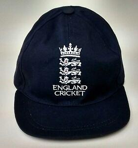 England Crest Navy Blue Baseball Style Cricket Caps,Size Adult 62cm @ £10.95p