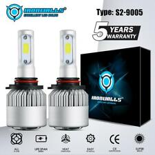 IRONWALLS 9005 9145 LED Headlight Kit 2000W 300000LM HI/LO Beam Bulb 6000K White