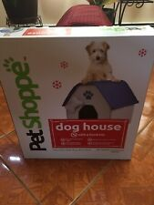 PetShoppe Blue Dog House With Bone Toy