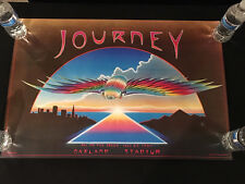 JOURNEY CONCERT POSTER-FIRST PRINT-Stanley Mouse 1980 Oakland-Day On The Green
