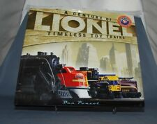 NB LIVRE TRAIN LIONEL A CENTURY OF LIONEL TIMLESS TOY TRAINS  PONZOL