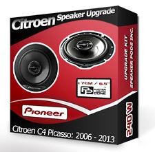 Citroen C4 Picasso Front Door Speakers Pioneer car speakers 240W