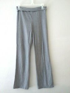 Justice Girls Size 14 Gray Active Wear Yoga Pants