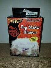 Spencer's Spirit Halloween Fog Maker Illusion Multi-Color Light Up Fogger N0103