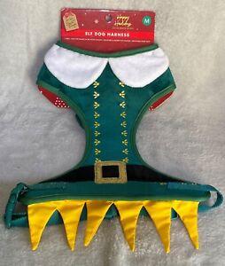 Christmas - Dog - Elf Harness - Medium - Brand New
