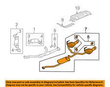 Buick GM OEM 2008 Enclave 3.6L-V6-Muffler 25925820